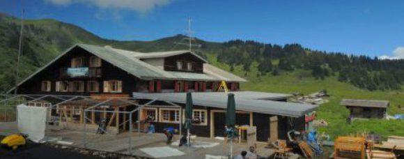 Assainissement d'un hôtel d'alpage