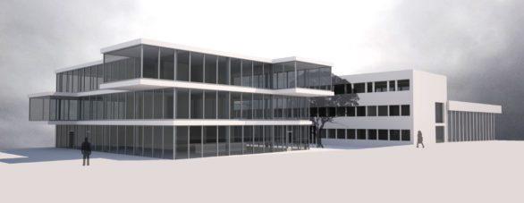 Extension d'une surface administrative - Martan